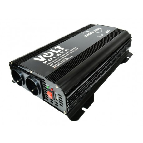 Przetwornica napięcia Sinus-3000W 12V/230V