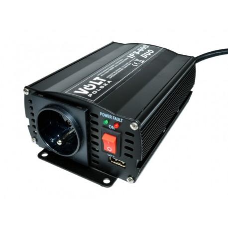 Przetwornica napięcia VOLT IPS-600 DUO 12/24V ***230V