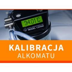 Legalizacja Alkomatu ALKOHIT X500 ze świadectwem kalibracji
