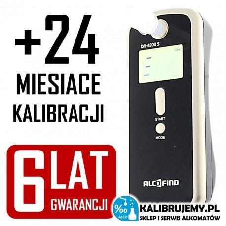 Alkomat AlcoFind DA-8700S + KALIBRACJA GRATIS