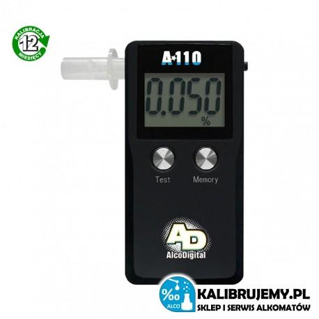 Alkomat elektrochemiczny A-110 AlcoDigital + SERWIS 12 miesięcy GRATIS!