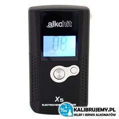 Alkomat ALKOHIT X5