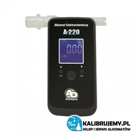 Alkomat Elektrochemiczny AlcoDigital A-220 + SERWIS