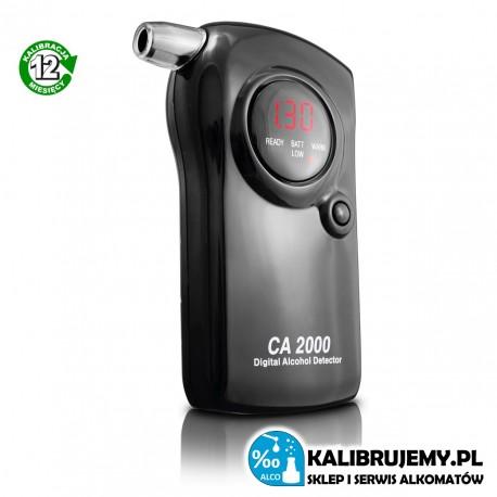 Alkomat CA2000 LITE + kalibracja 12 mc gratis