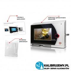 Alkomat ADB z wyświetlaczem LCD marki PROMILER