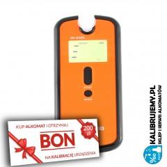 ✭✭✭ Alkomat Elektrochemiczny AlcoFind DA-8100L + pakiet FIRMA PLUS BON 200 zł na kalibrację