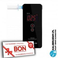 ✭✭✭ Alkomat elektrochemiczny AlcoFind AF-35 + pakiet FIRMA PLUS BON 200 zł na kalibrację