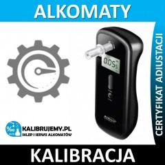 Kalibracja Alkomatu DA 8100 z certyfikatem kalibracji w [24H]