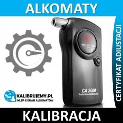 Kalibracja alkomatu CA2000 Lite z certyfikatem kalibracji w [24H]