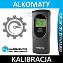 Kalibracja alkomatu DA 7100 z certyfikatem kalibracji w [24H]