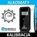 Kalibracja alkomatu AL 9000 ze świadectwem kalibracji w [24H]