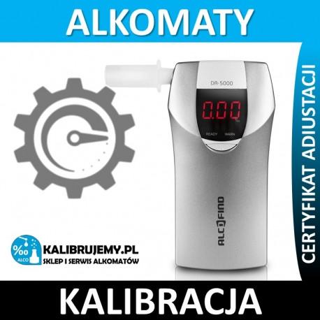 Kalibracja Alkomatu DA-5000 z certyfikatem w [24H]