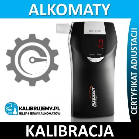 Kalibracja Alkomatu DA-5100 z certyfikatem w [24H]
