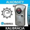 Kalibracja Alkomatu CA-3000 z certyfikatem kalibracji w [24H]