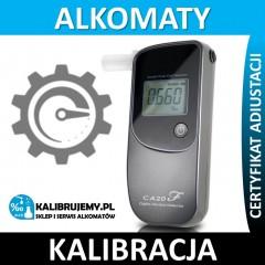 Kalibracja alkomatu CA20F z certyfikatem kalibracji w [24H]