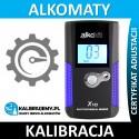Kalibracja Alkomatu Alkohit X10 Serwis Pogwarancyjny w [24H]