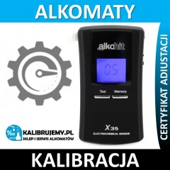 Kalibracja Alkomatu Alkohit X35 Serwis Pogwarancyjny w [24H]