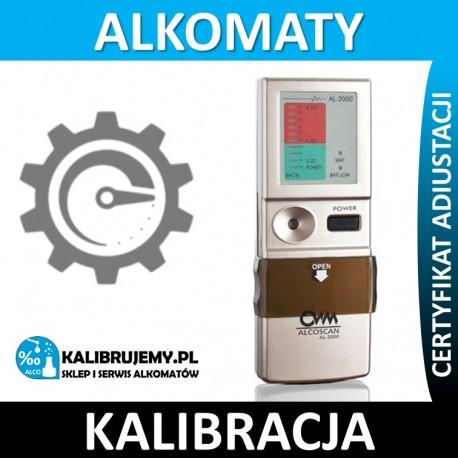 Kalibracja Alkomatu AL2000N plus certyfikat w [24]