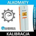 Kalibracja Alkomatu AlcoSafe Dual z certyfikatem kalibracji w [24H]