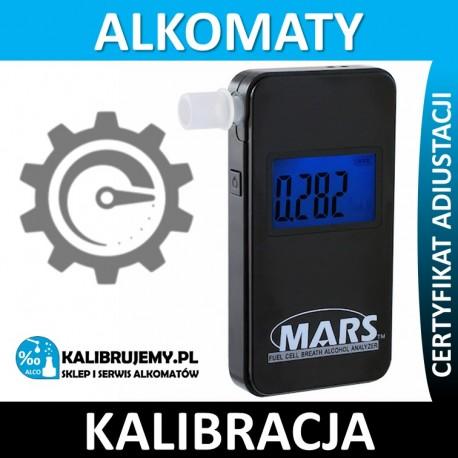 Kalibracja Alkomatu Alcovisor Mars z certyfikatem kalibracji w [24H]