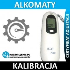 Kalibracja alkomatu AT 128 ALC Nose w [24H]
