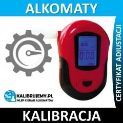 Kalibracja Alkomatu AT 6100 z certyfikatem kalibracji w [24H]