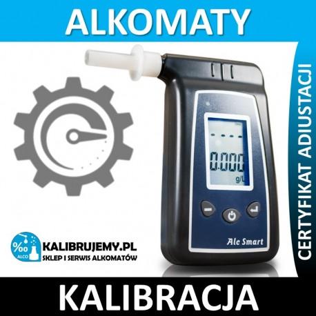 Kalibracja alkomatu AT8020 ze świadectwem kalibracji w [24H]
