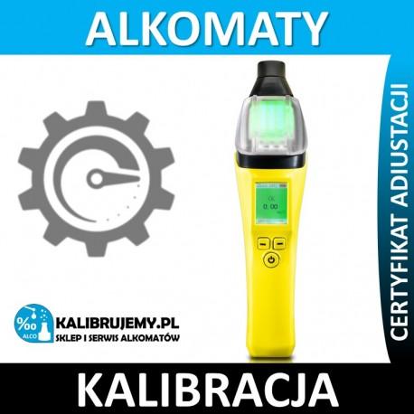 Kalibracja Alkomatu AT7000 raptor z certyfikatem kalibracji w [24H]