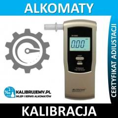 Kalibracja Alkomatu DA-8500E w [24H]