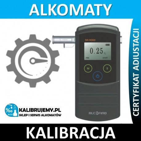 Kalibracja Alkomatu DA-9000 ze świadectwem kalibracji w [24H]