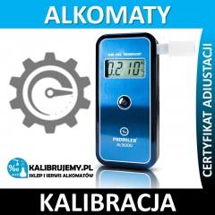 Kalibracja Alkomatu AL-9000 Lite z certyfikatem kalibracji w [24H]