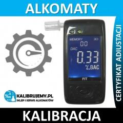 Kalibracja Alkomatu ELDOM MTX101