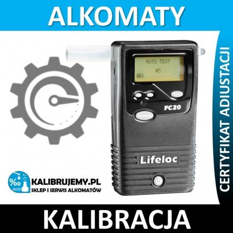 Kalibracja Alkomatu Lifeloc FC 20 w [24H]