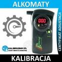 Blow in excellent kalibracja alkomatu z certyfikatem kalibracji w [24H]
