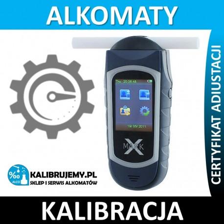 Kalibracja Alkomatu Alcovisor Mark X