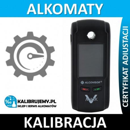 Kalibracja Alkomatu AlcoVisor Mark V