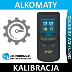 Kalibracja Alkomatu Alcovisor Mercury