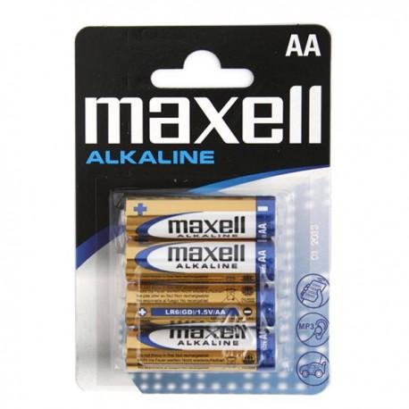 Baterie Alkaliczne MAXELL LR06/AA 4 SZT
