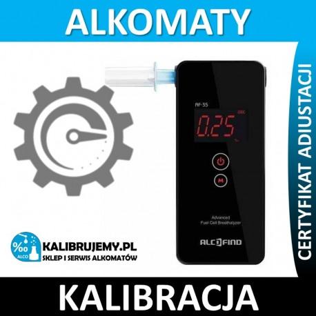 Kalibracja Alkomatu AF 35 w [24H]