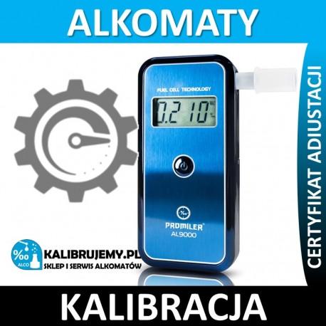 Kalibracja Alkomatu Sentech AL-9000C w [24H]