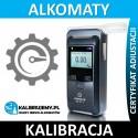 Kalibracja Alkomatu SENTECH ALP-1 w [24H]