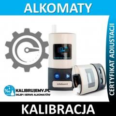 Kalibracja Alkomatu LifeGuard + certyfikat w [24H]