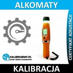 Kalibracja Alkomatu ALCOLIFE F7 w [24H]
