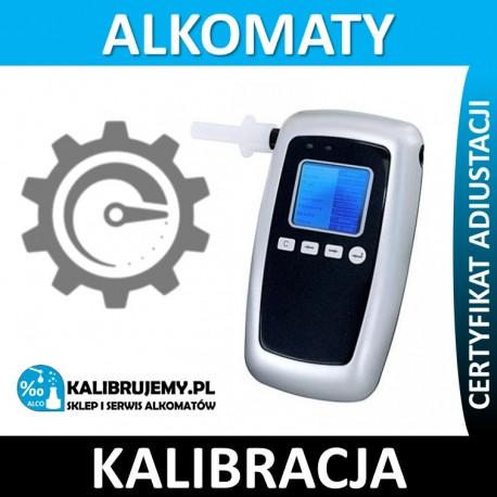Kalibracja alkomatu AT8050 ze świadectwem kalibracji w [24H]