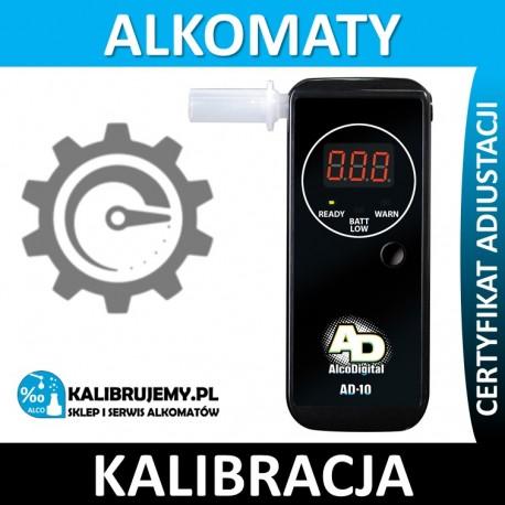 Kalibracja Alkomatu AD-10 w [24H]