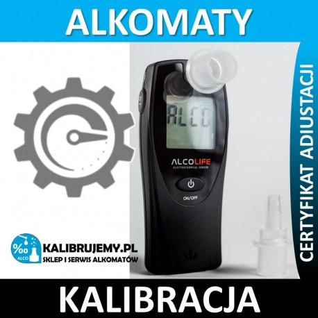 Kalibracja Alkomatu ALCOLIFE F1 w [24H]
