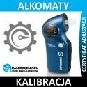Kalibracja Alkomatu PROMILER GR6500P z certyfikatem kalibracji w [24H]