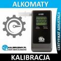 Kalibracja Alkomatu alcodigital A-100 z certyfikatem kalibracji w [24H]