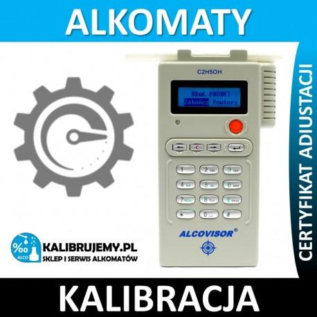 Kalibracja alkomatu Alcovisor BAC-100