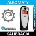 Kalibracja alkomatu SENCOR SCA BA01V2 plus świadectwo kalibracji w [24H]